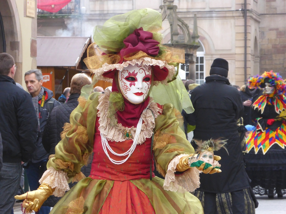 L'étonnant Carnaval Vénitien de Rosheim