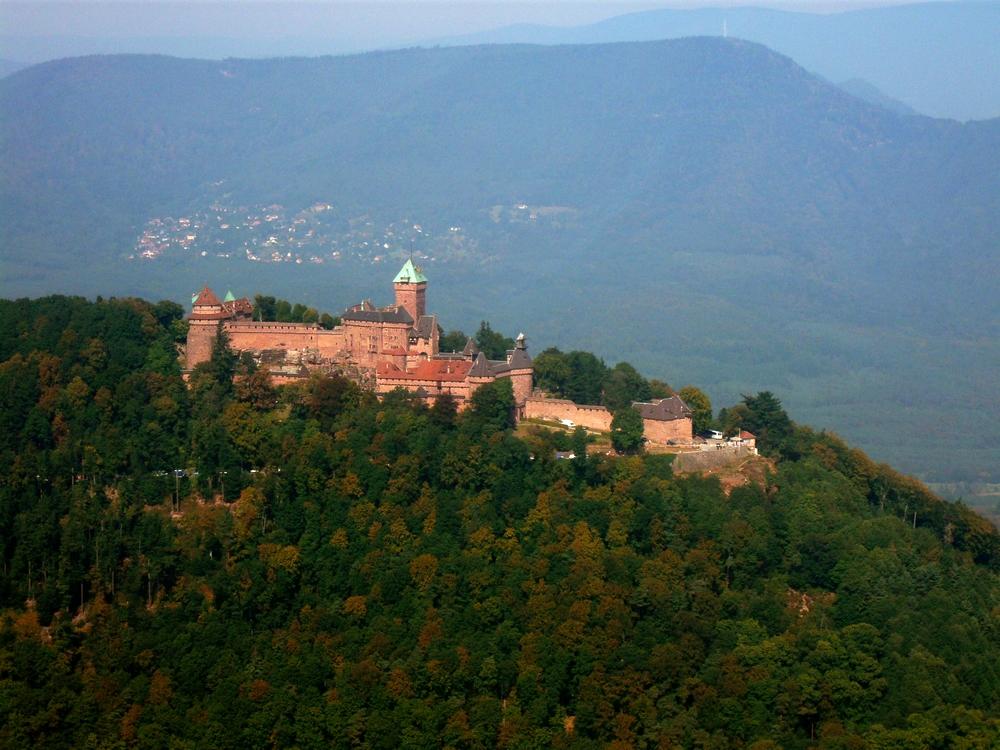 Un des joyaux d'Alsace : le Château du Haut-Koenigsbourg