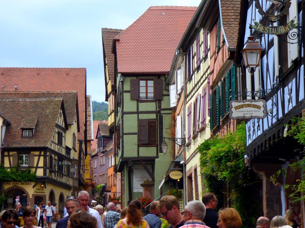 Riquewihr : village immanquable sur la route des vins