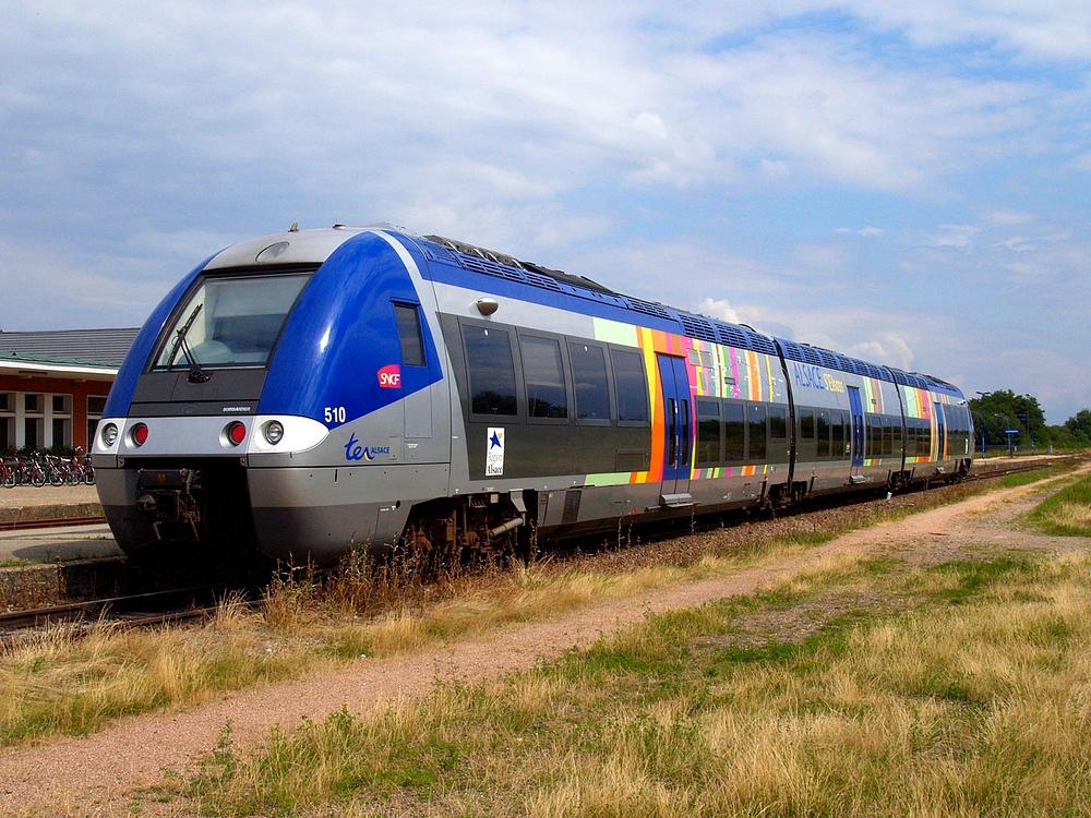 La particularité des trains en Alsace-Moselle
