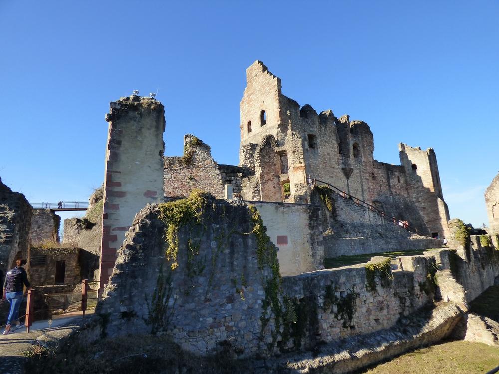 Le Hochburg : un château médiéval préservé !
